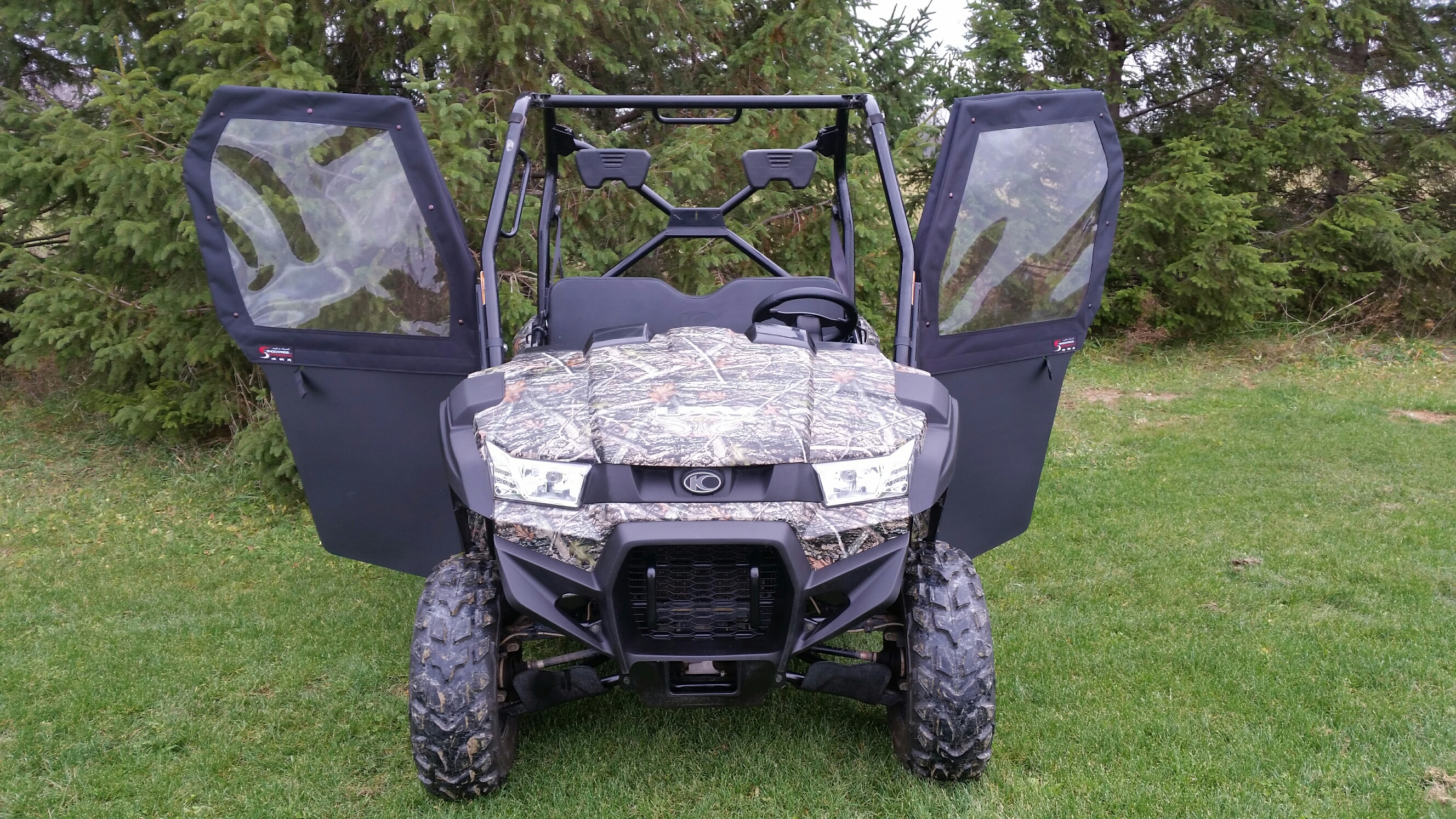 Cab Kit With Aluminum Sport Roof Shockpros
